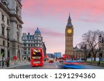 london skyline with big ben and ... | Shutterstock . vector #1291294360