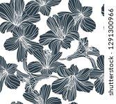 vector floral seamless pattern. ...   Shutterstock .eps vector #1291300966