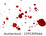 red spots on white background ... | Shutterstock . vector #1291309666