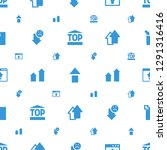 upload icons pattern seamless... | Shutterstock .eps vector #1291316416