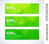 vector design template set of... | Shutterstock .eps vector #1291331536