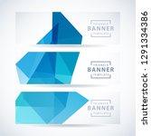 vector design template set of... | Shutterstock .eps vector #1291334386