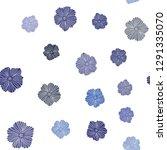 dark pink  blue vector seamless ... | Shutterstock .eps vector #1291335070