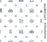 government icons pattern... | Shutterstock .eps vector #1291338790