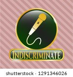 gold badge or emblem with...   Shutterstock .eps vector #1291346026