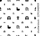 childhood icons pattern... | Shutterstock .eps vector #1291348909