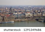 budapest city panorama with... | Shutterstock . vector #1291349686