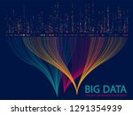 big data analytics methods and... | Shutterstock .eps vector #1291354939