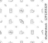 heart icons pattern seamless... | Shutterstock .eps vector #1291355329