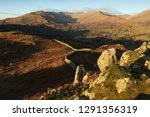 winter afternoon on loughrigg... | Shutterstock . vector #1291356319