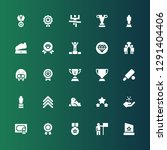 reward icon set. collection of... | Shutterstock .eps vector #1291404406