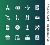 hardware icon set. collection... | Shutterstock .eps vector #1291404430
