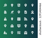 content icon set. collection of ...