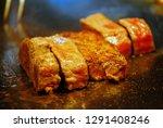 super delicious kobe steak set... | Shutterstock . vector #1291408246