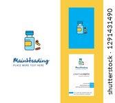 medicine  creative logo and...   Shutterstock .eps vector #1291431490