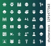 member icon set. collection of...   Shutterstock .eps vector #1291477363