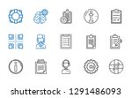 question icons set. collection...