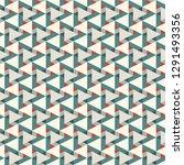 contemporary geometric pattern. ... | Shutterstock .eps vector #1291493356