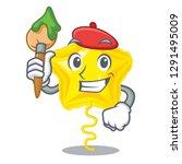 artist star balloon was flown... | Shutterstock .eps vector #1291495009