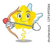 cupid star balloon was flown... | Shutterstock .eps vector #1291495066