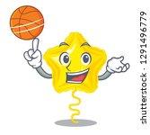 with basketball star balloon... | Shutterstock .eps vector #1291496779