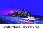 vector illustration of smart... | Shutterstock .eps vector #1291497766