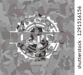 lard on grey camouflage texture | Shutterstock .eps vector #1291516156