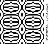 design seamless monochrome...   Shutterstock .eps vector #1291523626