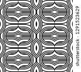 design seamless monochrome...   Shutterstock .eps vector #1291523629
