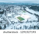 oslo city aerial view from... | Shutterstock . vector #1291527193
