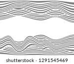 warped lines background.wavy... | Shutterstock . vector #1291545469