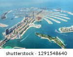 Aerial View Of Dubai Palm...