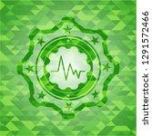 electrocardiogram icon inside... | Shutterstock .eps vector #1291572466