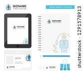 employee  business logo  tab... | Shutterstock .eps vector #1291578913