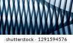 grid structure of wall  roof or ... | Shutterstock . vector #1291594576