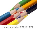 close up shot of colorful... | Shutterstock . vector #129161129
