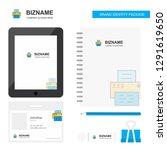 printer business logo  tab app  ... | Shutterstock .eps vector #1291619650