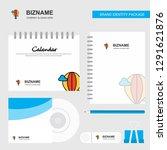 hot air balloon  logo  calendar ... | Shutterstock .eps vector #1291621876