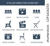 director icons. trendy 9... | Shutterstock .eps vector #1291626253