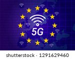 5g next generation wireless... | Shutterstock .eps vector #1291629460