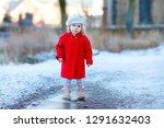 outdoor winter portrait of...   Shutterstock . vector #1291632403