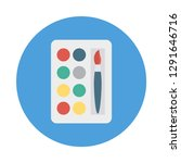palette   color  brush  | Shutterstock .eps vector #1291646716