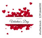 happy valentines day and... | Shutterstock . vector #1291666030
