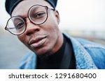 close up portrait of african...   Shutterstock . vector #1291680400