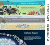 set of ecological templates... | Shutterstock .eps vector #1291735189