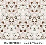 kaleidoscope seamless pattern ...   Shutterstock .eps vector #1291741180