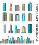 skyscraper buildings. modern... | Shutterstock .eps vector #1291742083