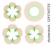 set round guilloche watermark... | Shutterstock .eps vector #1291765723