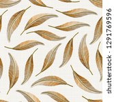 embroidery floral seamless...   Shutterstock . vector #1291769596