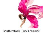 graceful ballet dancer or... | Shutterstock . vector #1291781320